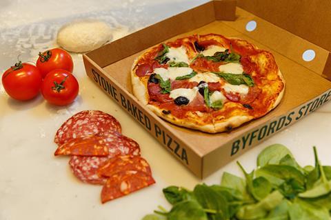 Byfords pizza