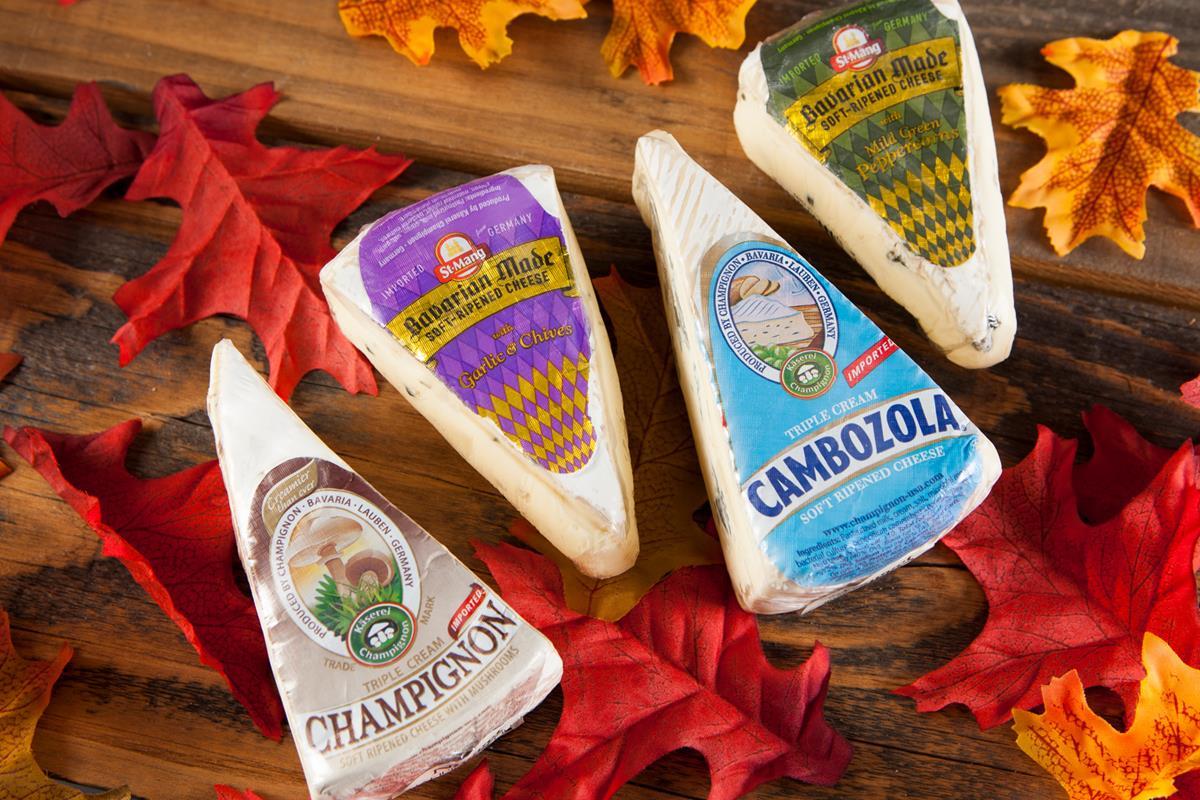 Champignon Bavarian cheese wedges