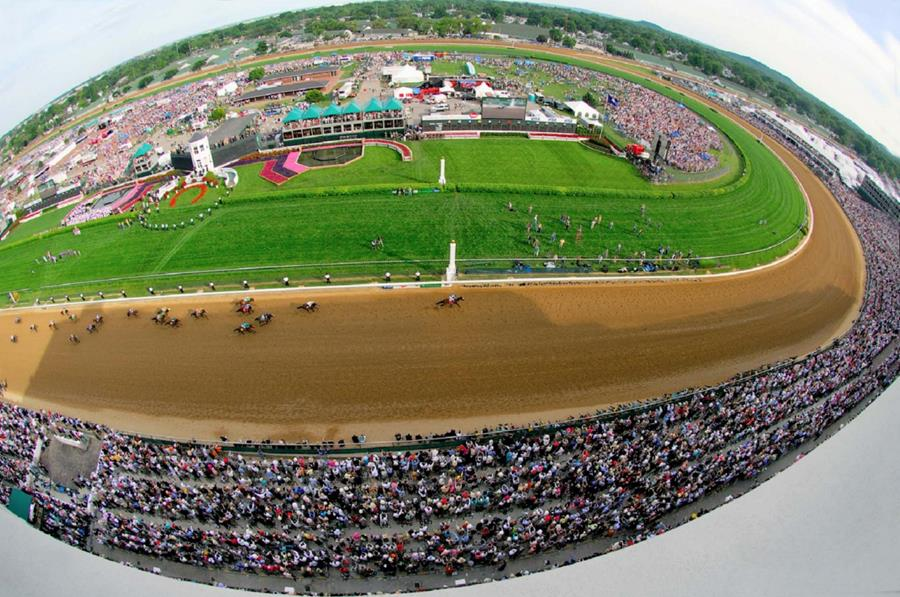 Kentucky Derby finish image