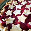 pie with star crust