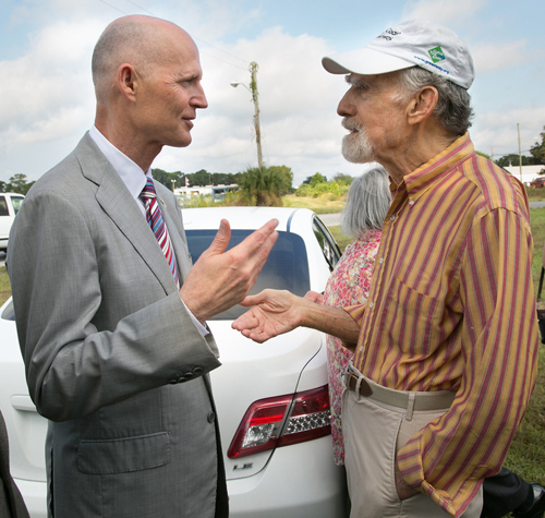 Herb Hiller and FL Governor Scott