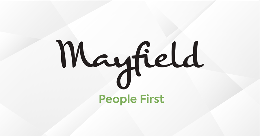 Mayfield People First on white background