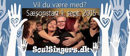 Soulsinger - gospelmasschoir i Odense