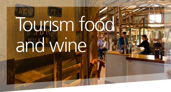 Tourism food and wine