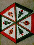 Christmas Tree Skirt pattern from The Stitch Witch