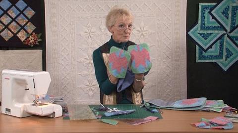 Oven gloves with Jennie Rayment