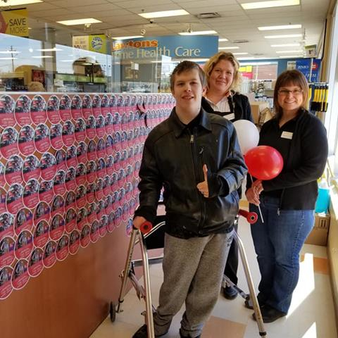 Image of Easter Seals Paper Eggs available in stores from March 25 to April 21, 2019