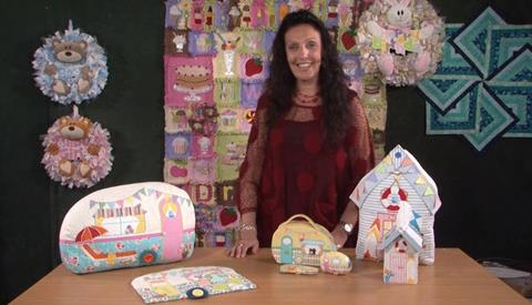 Caravans and other cushions with Gail Penberthy