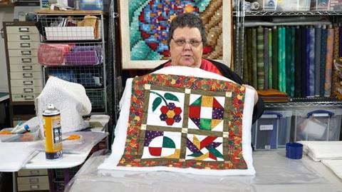 Marking and Layering your quilt with Paula Doyle