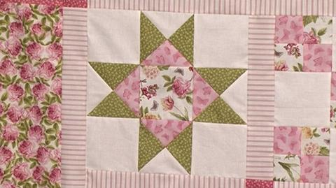 Ohio Star - Block 6 of Your First Sampler Quilt