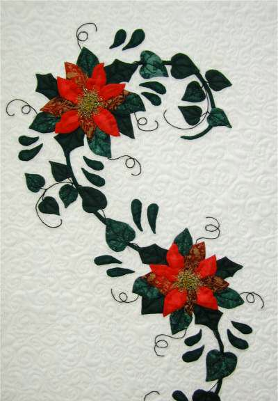 Christmas Table runner designed by Maggie Davis