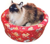 Cat Basket pattern set designed by Southwest Denim Designs