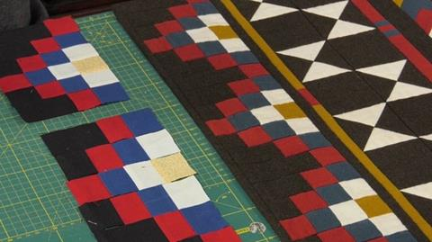 Navajo Blanket Quilt - Seminole Band with Anne Baxter