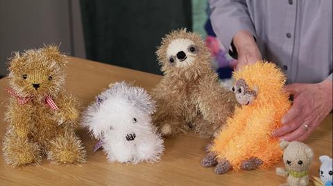 Knitted Tinsel Creatures with Fiona Goble