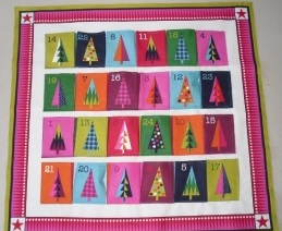 Modern Advent Calendar designed by Makower