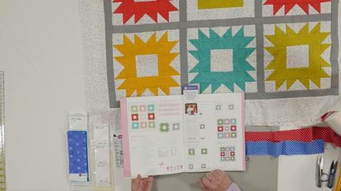 The Hannah Quilt from the Fat Quarter Baby Book