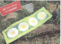 Daisy Chain Table Runner Pattern kit from Lina Patchwork