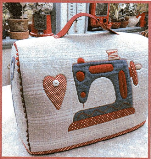 Sewing Machine Cover pattern designed by Mandy Shaw