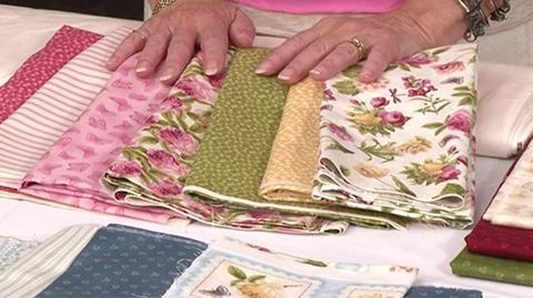 Choosing fabrics for Your First Sampler Quilt with Valerie Nesbitt