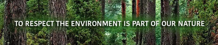 Respect the environment!