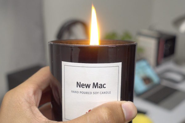 "THERE'S A ""NEW MAC"" SCENTED CANDLE, AND THAT MAKES PERFECT, ANNOYING SENSE"
