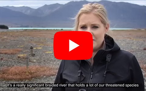 Braided river video.