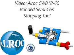 Alroc CWB18-60 Bonded Semi-Con Stripping Tool