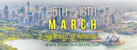 Sydney Build Expo 2018