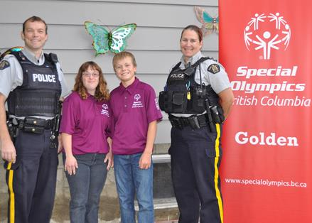 Golden Law Enforcement Torch Run for Special Olympics BC