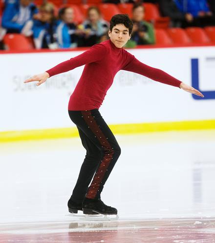 SOBC - Vancouver figure skater Eric Pahima