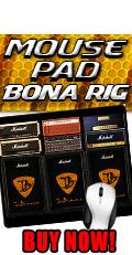 Bonamassa Bona Rig Mouse Pad. Buy Now!