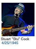 Birthdays: Stuart 'Stu' Cook: 4/25/1945