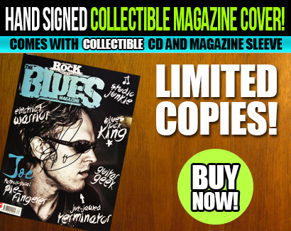 Bonamassa hand signed collectible Classic Rock The Blues magazine cover! Comes with collectible CD and magazine sleeve. Available now! Limited Copies, only available at the Bonamassa store! Buy Now!