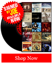 Hand Signed Authentic Bonamassa Vinyl Collection