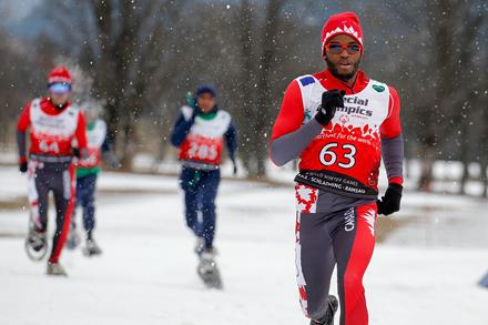 Special Olympics Team Canada 2017 snowshoer Peter Snider