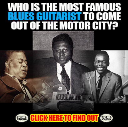 Tribut Apparel, 'When Music Really Matters'. Who is the most famous blues guitarist to come out of the motor city? Click here to find out!