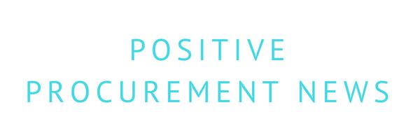 Postive Procurement News
