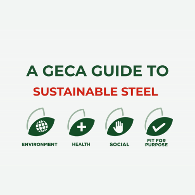 A GECA Guide to Sustainable Steel Video