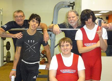 SOBC – Mount Waddington powerlifting athletes and coaches