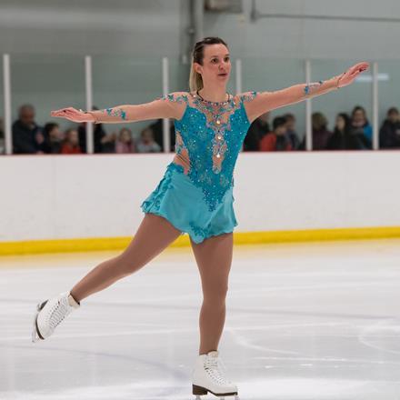 Special Olympics figure skater Alexandra Magee