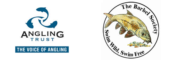 Angling Trust and Barbel Society Logos