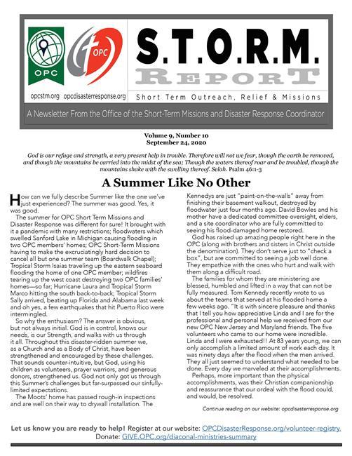 S.T.O.R.M. Reports