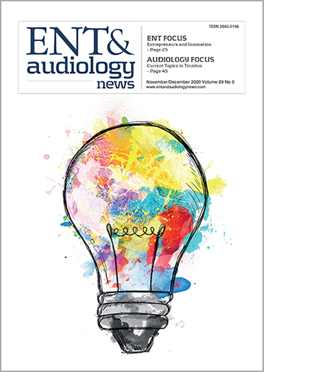 ENT & audiology News front cover