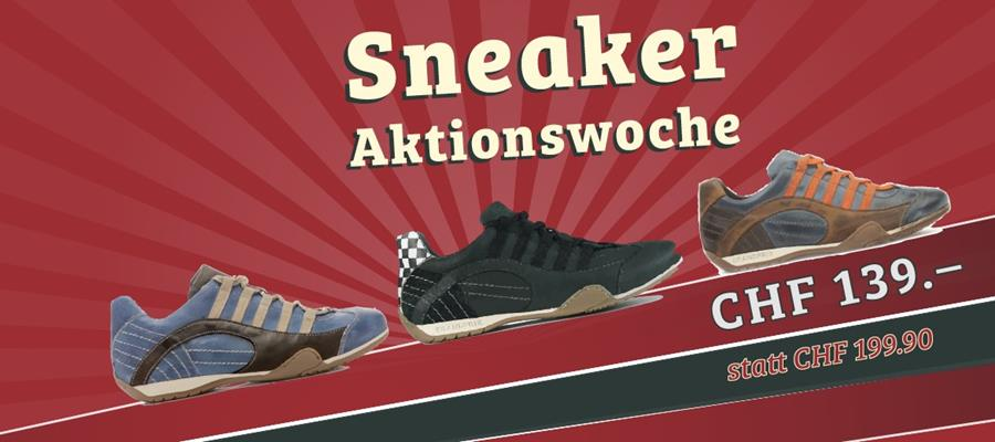 Sneaker Aktion