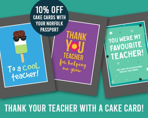 Teacher Thank You Card with Sponge