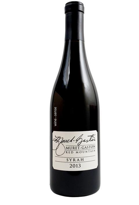 Muret-Gaston Winery, Syrah Red Mountain