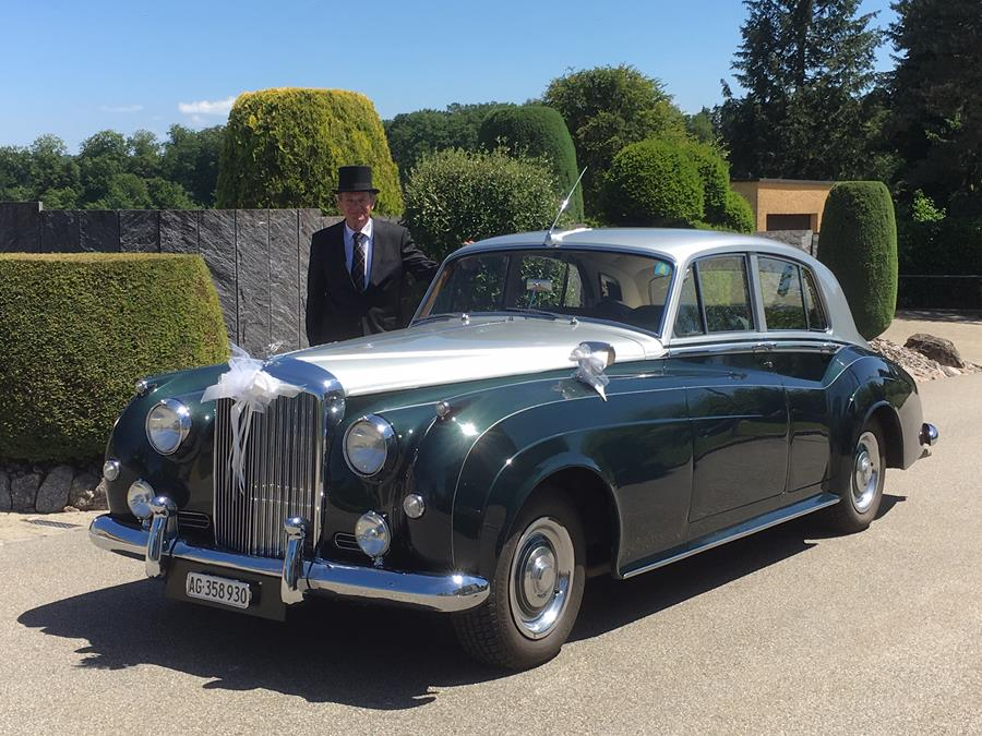 Bentley Hochzeitsfahrten