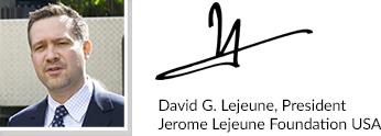 David Lejeune signature block