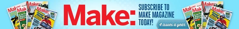Subscribe to Make Magazine